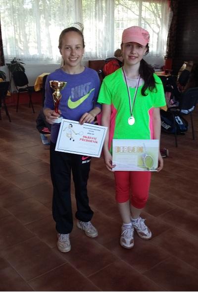 Finalistky Sikelová a A.Bohmová